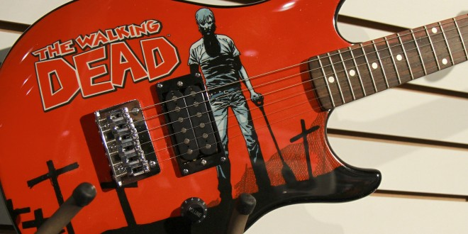 TOY FAIR 2014: WALKING DEAD, MARVEL, DC and STAR WARS Invade PEAVEY's Latest Guitar Line
