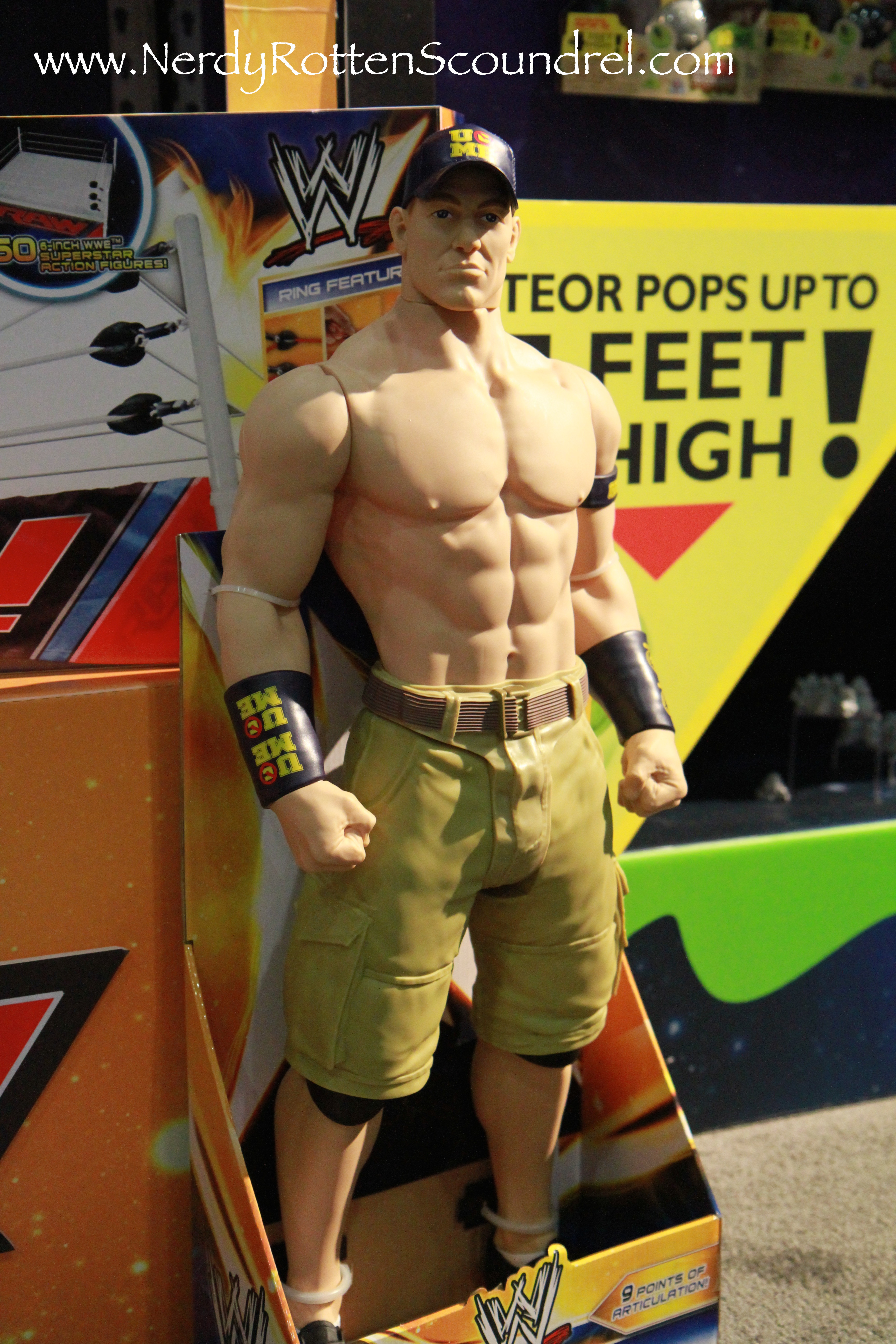 Toy Fair 2014 Wicked Cool Toys Brings Wwe And Tmnt Action