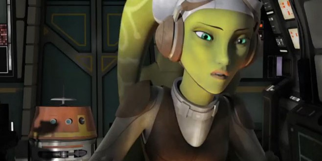 First Clip From Disney XD's STAR WARS REBELS