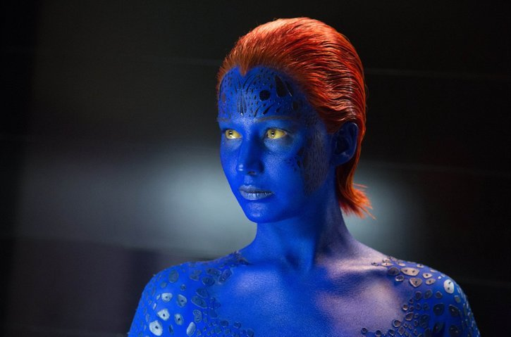 1009_sl_DF-09307_v04   Jennifer Lawrence as Mystique in X-Men: Days of Future Past.