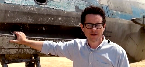 J.J. Abrams Reveals X-Wing Fighter From STAR WARS: EPISODE VII