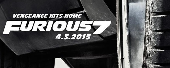 "First FURIOUS 7 Teaser Poster Reveals ""Vengeance Hits Home"""