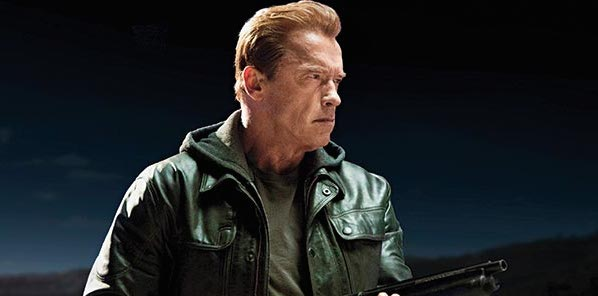 New TERMINATOR: GENISYS Image Reveals First Look at Arnold Schwarzengger as the Aging T-800
