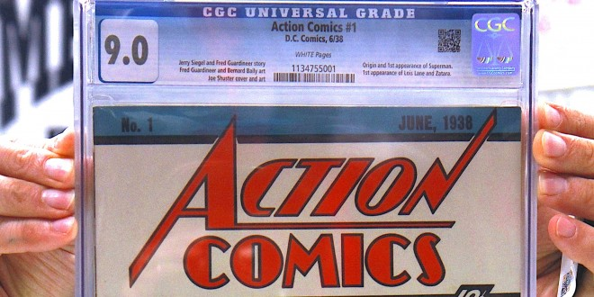 NEW YORK COMIC CON 2014: Guinness World Records Officially Recognizes The Most Valuable Comic Book Of All Time