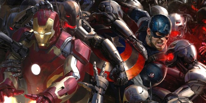 The AVENGERS: AGE OF ULTRON Trailer Is Here! Hulkbuster Smash!!