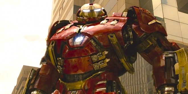 Hulkbuster Screencaps from the AVENGERS: AGE OF ULTRON Trailer
