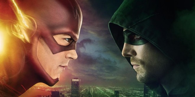 Full Promo Released For THE FLASH VS. ARROW Cross Over Event