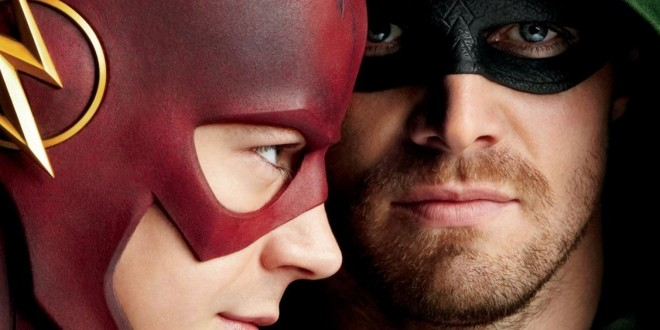 First Images From The Two-Part FLASH VS. ARROW Crossover Revealed