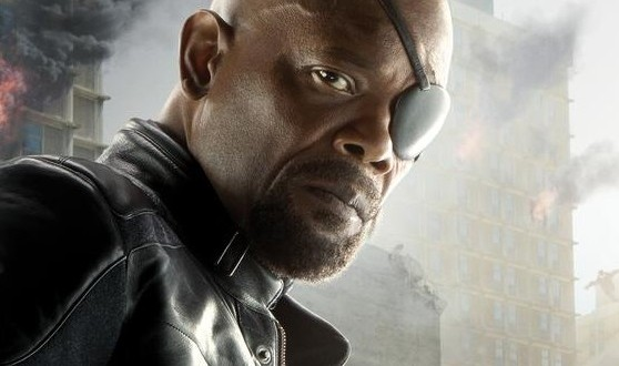 Sam Jackson Reveals Nick Fury, Thor and Black Widow AVENGERS: AGE OF ULTRON Character Posters