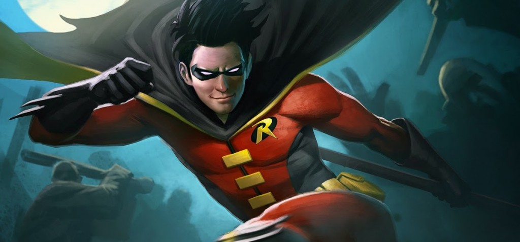 Infinite Crisis - Robin - character art