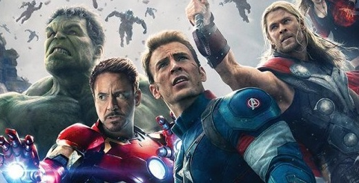 Photoshop Assembles The AVENGERS In AGE OF ULTRON Poster