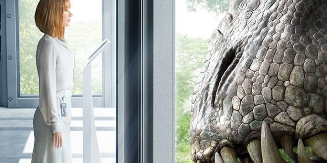 Behold An Indominus Rex Stare Down On New JURASSIC WORLD Poster