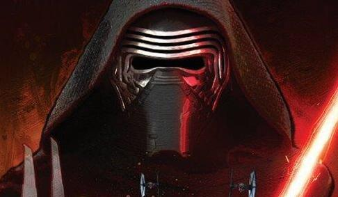 Possible STAR WARS: THE FORCE AWAKENS Promo Art Features Kylo Ren and Squads of Stormtroopers