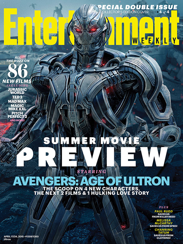 New Look At The Vision On AVENGERS: AGE OF ULTRON ...