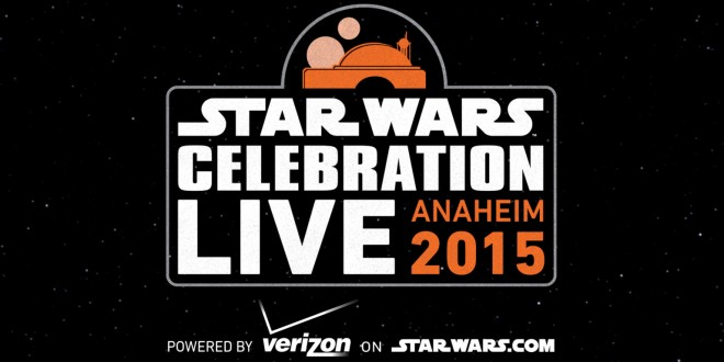 STAR WARS CELEBRATION Will Live Stream Over 30 Hours Of Content. New THE FORCE AWAKENS TRAILER Thursday Morning!