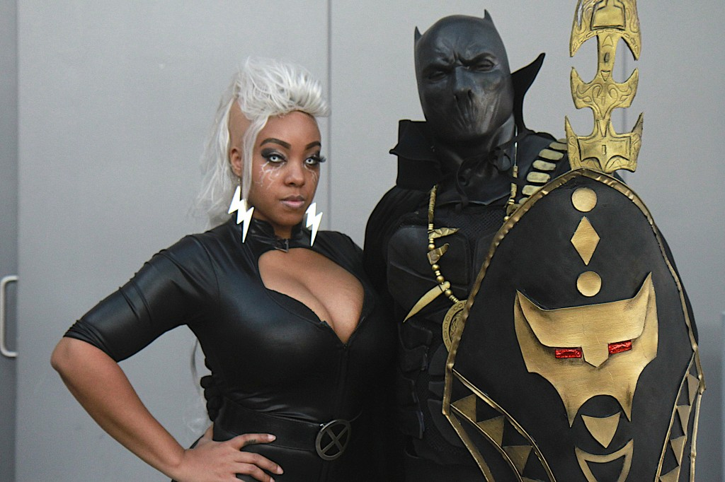 New_York_Comic_Con_Cosplay_2015_Black_Panther_Storm_1