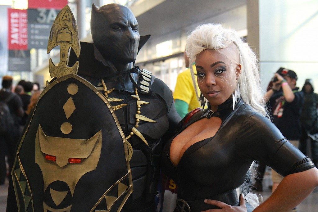 New_York_Comic_Con_Cosplay_2015_Black_Panther_Storm_3