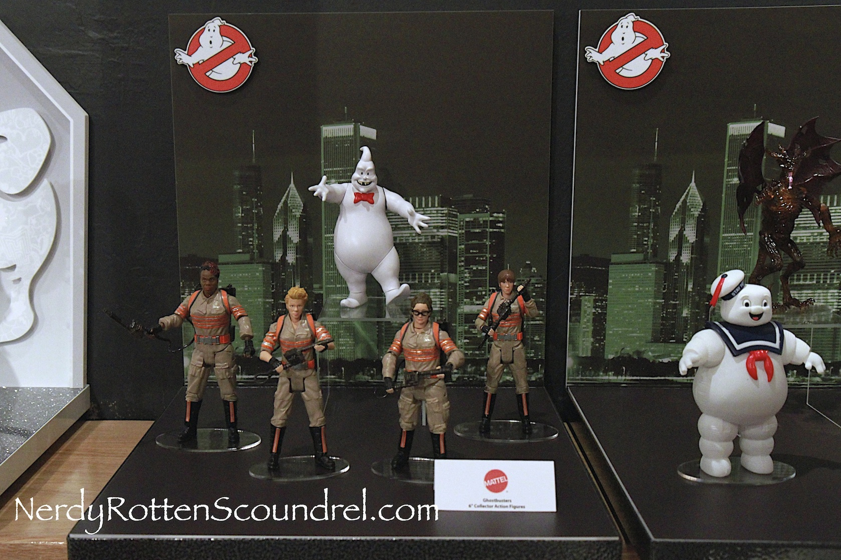 Best Ghostbuster Toys : Toy fair ghostbusters action figures from mattel