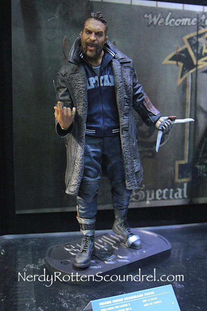 SUICIDE SQUAD-BOOMERANG-TOY-FAIR-2016- DC-COLLECTIBLES